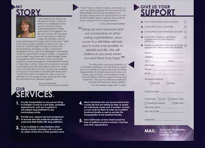 Jesus Loves You Ministries Brochure